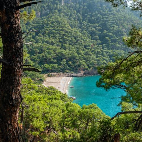 Kabak,Beach,At,Mediterranean,Sea,Near,Fethiye,,Turkey